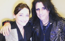 Alice Cooper and Lord SM paris