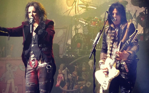 ALICE COOPER + TOMMY HENRIKSEN + RYAN ROXIE + LORD SM PARIS - Olympia